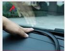 中控隔音條(1.6米) 免黏車用隔音防塵密封條 汽車中控台密封條防塵前擋風玻璃減噪儀表縫隙異響