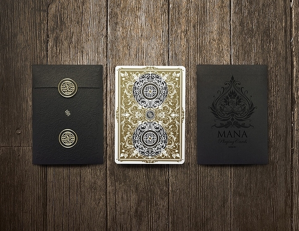 Mana SYBIL gold reverse Playing Cards