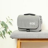 佳能相機包單反微單便攜可愛單肩男女攝影背包M6M100M5080D200D【快速出貨】