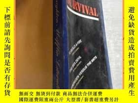 二手書博民逛書店英文書罕見survival:to build a fire,the sea devil.leiningen ver