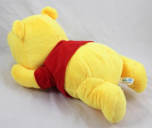 【卡漫城】 維尼熊 趴姿 玩偶 45cm ㊣版 Winnie Pooh 絨毛娃娃 布偶 小熊 維尼 日版 擺飾 佈置