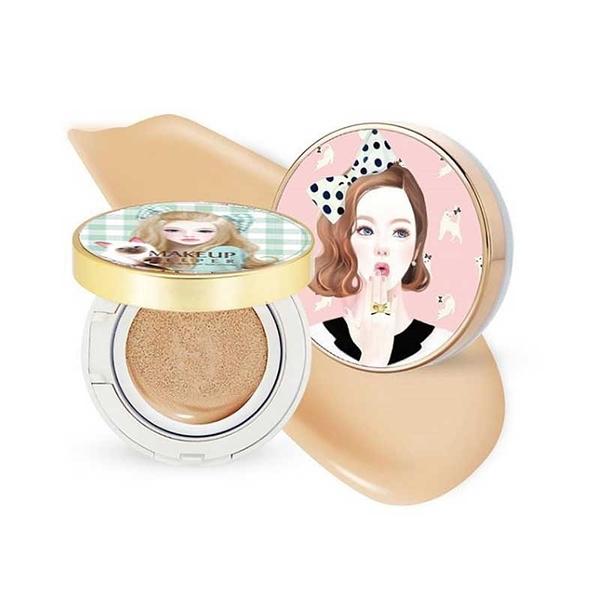 【現貨】韓國 Makeup Helper 光感氣墊防曬粉凝霜 保濕粉凝霜 21淺色/23自然米 13G