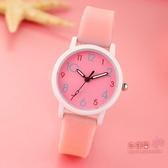 兒童手錶 時尚潮流兒童手錶 女孩學生可愛男孩中小學生考試電子夜光石英錶 6色