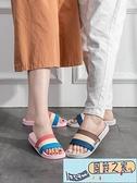 涼拖鞋女夏季室內洗澡防滑時尚家用軟底情侶居家拖鞋男 【風鈴之家】