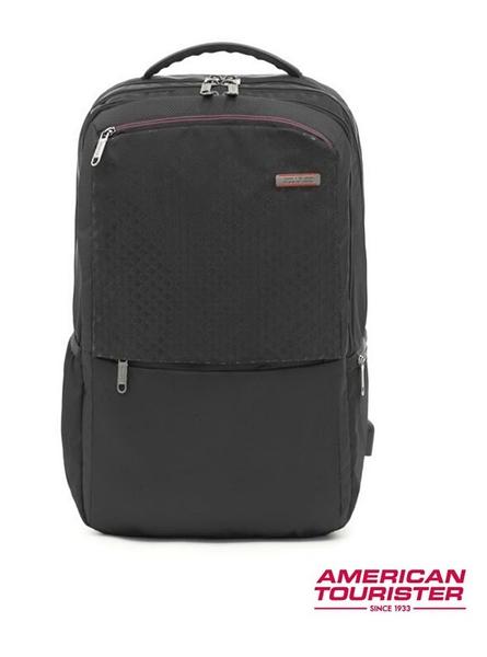AT美國旅行者 LOGIX NXT 大容量筆電後背包15.6吋-黑色
