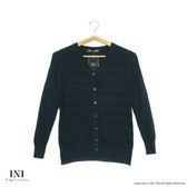 【INI】柔感彈性、輕鬆百搭織紋小外套.黑色