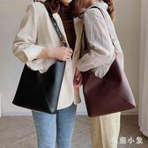2019新款韓版單肩包時尚潮流子母包簡約東大門女包側背包 DJ11333『毛菇小象』