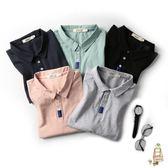 polo衫男士短袖T恤正韓翻領polo衫有領半袖體恤潮男裝衣服 耶誕交換禮物