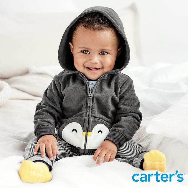 【美國 carter s】 企鵝造型3件組套裝-台灣總代理