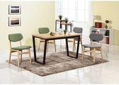 【新北大】✪ C852-3 明日香木面4尺餐桌(不含餐椅)-18購