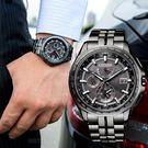 【公司貨5年延長保固】CITIZEN 星辰 Eco-Drive 限量 黑武士鈦金屬光動能電波腕錶 AT9097-54E 熱賣中!