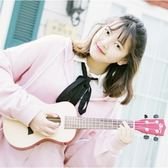 尤克里里23寸26寸木古典琴頭初學者學生成人女兒童小吉他自學 qf1329【黑色妹妹】