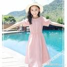 女童洋裝 童裝女童洋裝新款夏季兒童純棉裙子中大童網紅公主裙