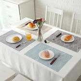 隔热垫 日式西餐墊 隔熱墊防滑碗墊PVC防水餐墊家用耐高溫餐桌墊2片裝