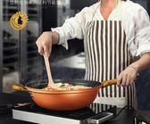 32cm炒鍋不粘鍋多功能平底鐵鍋家用電磁爐燃氣灶適用炒菜鍋具 酷斯特數位3c YXS
