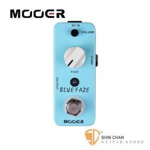 Mooer Blues Faze 破音Fuzz效果器【Fuzz Pedal】【Micro系列BF】