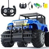 遙控汽車【充電版 帶車燈 可漂移】超大遙控越野攀爬車耐摔兒童男孩玩具車