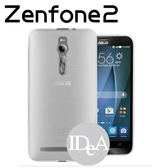 IDEA ZenFone2 5 5 吋磨砂複合式保護殼半透明手感軟殼 上市果凍布丁清水手機