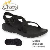 【速捷戶外】美國 Chaco CH-ZLM01H407 越野紓壓運動涼鞋-標準 男款(黑)  Z/CLOUD ,戶外涼鞋,佳扣