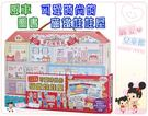 麗嬰兒童玩具館~風車圖書-可愛時尚的磁鐵娃娃屋.精緻夢幻的房間背景.超多磁鐵配件.附收納盒