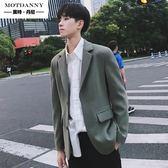 西裝2019秋季新款韓版休閒小西服青年帥氣修身潮流便服單西男外套
