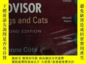 二手書博民逛書店Clinical罕見Veterinary Advisor:Dog