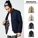 時尚簡約拉鍊立領休閒外套 防風外套【TJ-K780】(ROVOLETA)