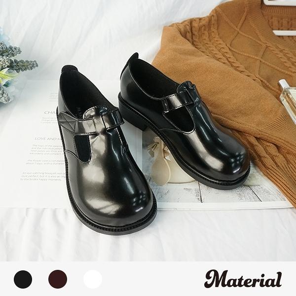 包鞋 大圓頭復古包鞋 MA女鞋 T9878
