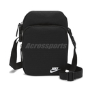 Nike 斜背包 Heritage Crossbody Bag 黑 男女款 側背包 小包【ACS】 DB0456-010
