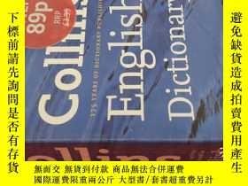 二手書博民逛書店【英文原版】Collins罕見English Dictionary( 如圖)Y25633