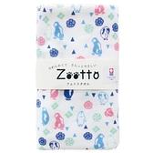 【日本製】【Zootto】今治毛巾 Imabari Towel 紗布 洗臉毛巾 企鵝(一組:10個) SD-2165-10 - 日本製
