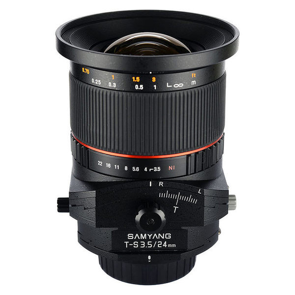 ◎相機專家◎ SAMYANG 24mm T-S F3.5 for Canon EF 手動移軸鏡頭 正成公司貨 保固一年