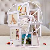 【放12張照片】創意兒童相框擺台3 5寸摩天輪寶寶像框婚紗照  遇見生活