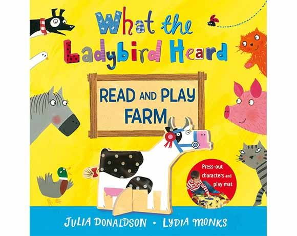 What The Ladybird Heard Read And Play Farm 小瓢蟲聽到了什麼? 故事+玩樂兩用書