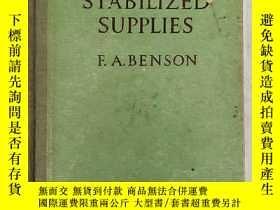 二手書博民逛書店voltage罕見stabilized supplies (H3