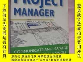 二手書博民逛書店The罕見One-Page Project Manager:Co