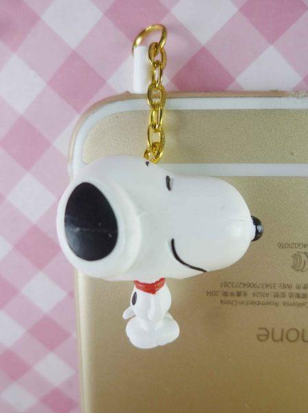 【震撼精品百貨】史奴比Peanuts Snoopy~耳機防塵塞-大頭搖身體
