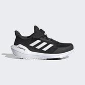 Adidas Eq21 Run El K [FX2254] 中童鞋 運動 休閒 慢跑 透氣 避震 舒適 愛迪達 黑 白
