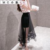半身裙 2018新款魚尾修身燕尾半身裙