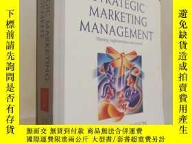 二手書博民逛書店.Strategic罕見Marketing Management