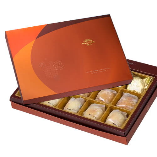 御藏 綜合13入禮盒(綠豆椪*2+純綠豆椪*2+蛋黃酥*9)