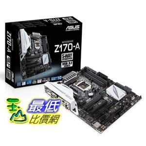 [104美國直購] ASUS Z170-A ATX DDR4 Motherboards 主機板