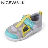 日本Combi童鞋NICEWALK 醫學級成長機能鞋A2101GL灰(中小童段)