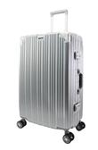 26吋古典鋁框旅行箱-銀色