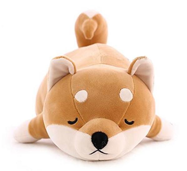 慵懶狗狗 超舒服 大抱枕娃娃 柴犬 L號 日本正版 該該貝比日本精品 ☆