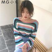 韓版學生百搭長袖t恤