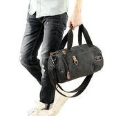 健身包帆布手提包運動男士背包單肩斜挎包短途旅行袋 一件免運