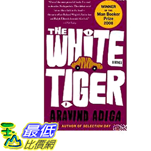 2019 美國得獎書籍 The White Tiger: A Novel
