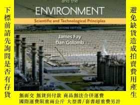 二手書博民逛書店Energy罕見And The Environment: Scientific And Technological