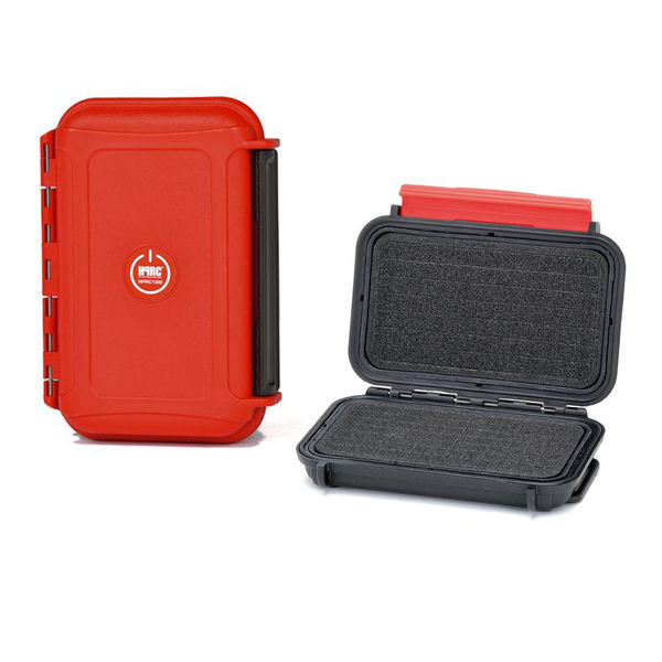 黑熊館 義大利 HPRC 1300 Cubed Foam 泡棉式 記憶卡收納盒 紅色 氣密箱 防水防撞